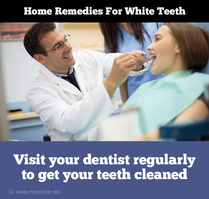 Tips to Maintain White Teeth: Regular Visit to the Dentist