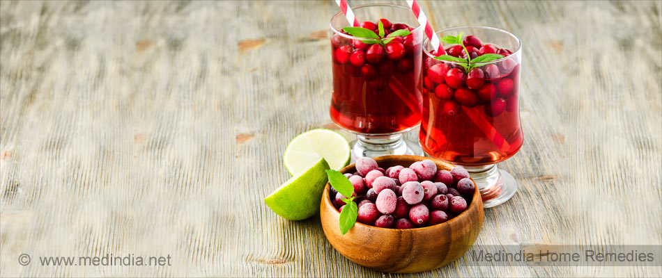 Home Remedies for Diaper Rashes: Cranberry Juice