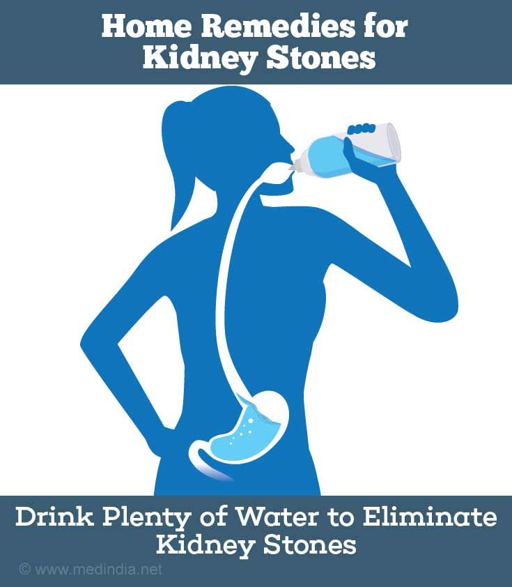 Drink More Water to Get Rid of Kidney Stones