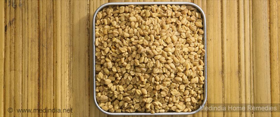 Home Remedies for Dandruff: Fenugreek Seeds