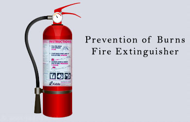 Preventing Burns: Fire Extinguisher