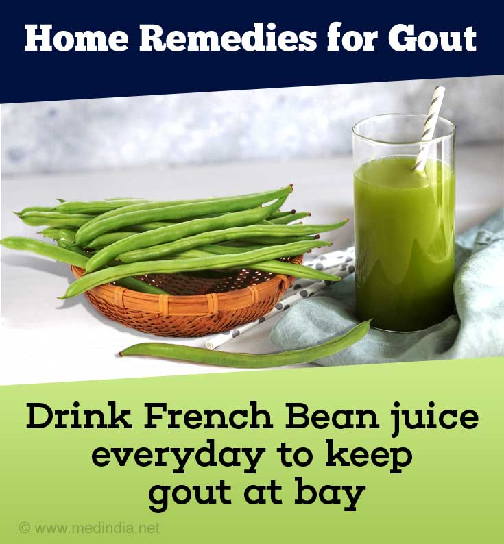 French Bean Juice for Gout