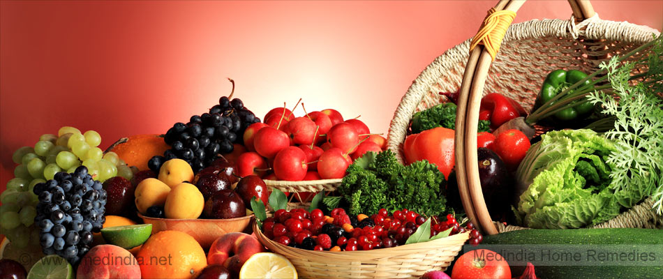 Fruits and Veggies Enrich Skin Quality