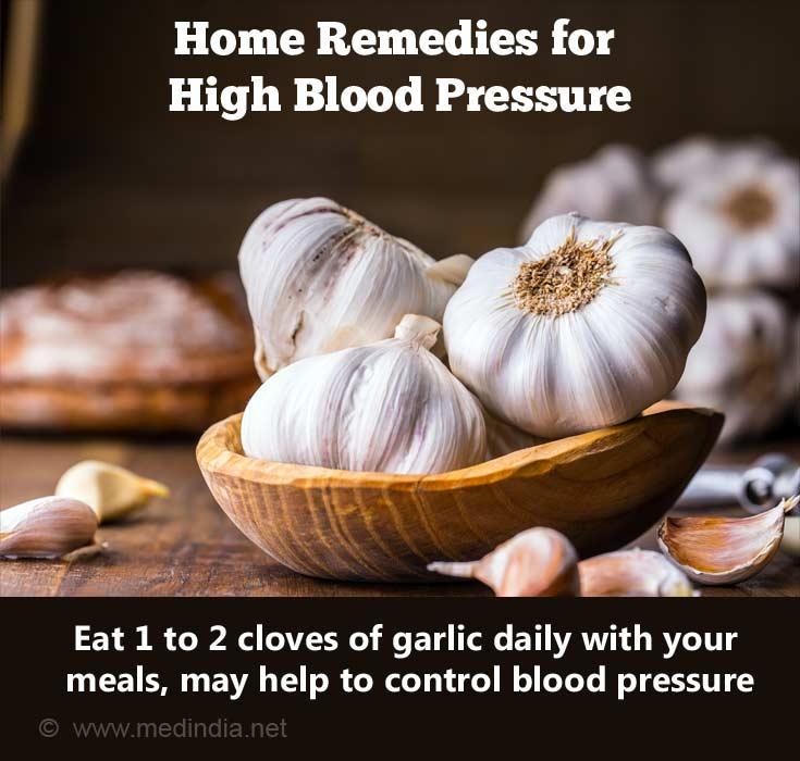 Garlic Prevents High Blood Pressure