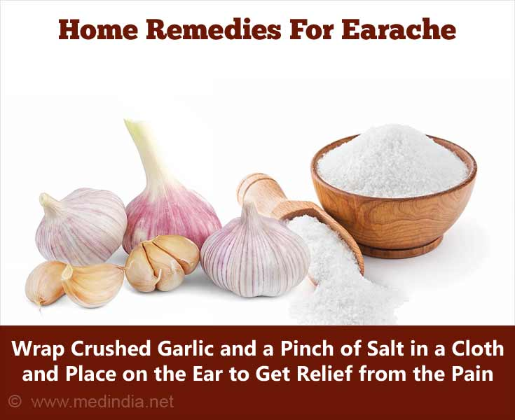Home Remedies for Earache: Garlic