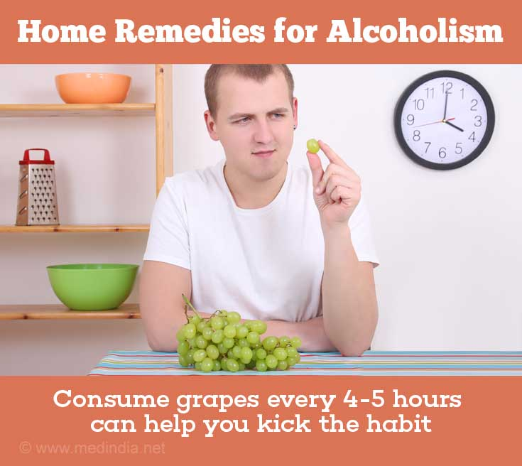 Grapes Help You Get Rid of Alcoholism