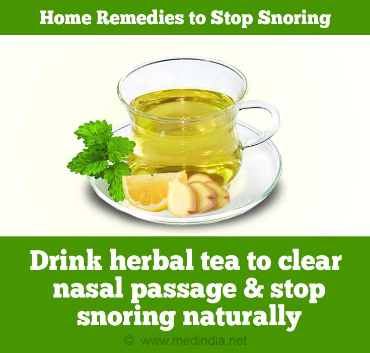 Herbal Tea to Avoid Snoring