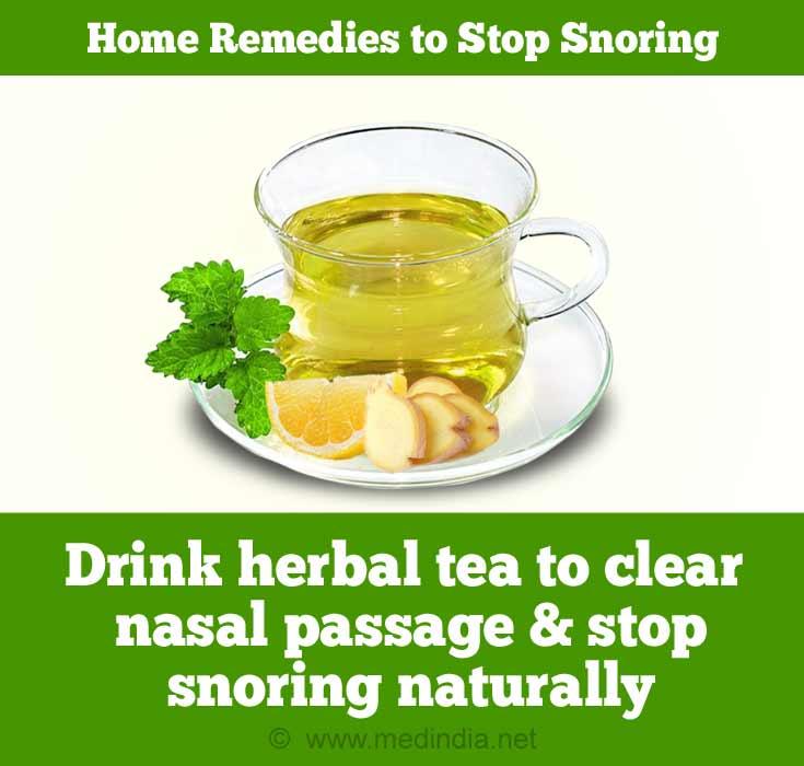 Herbal Tea to Avoid Snoring