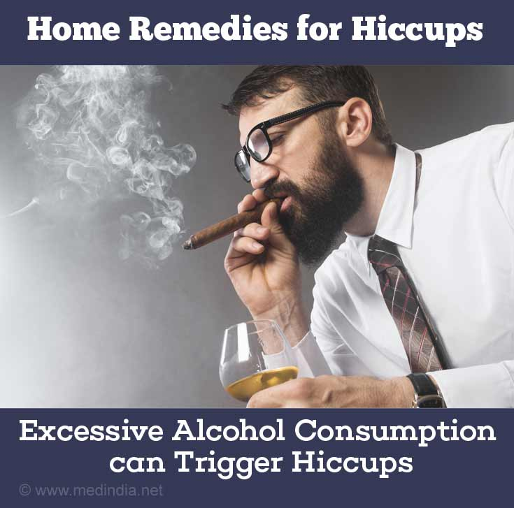 Common Causes of Hiccups: Alcohol and Smoking