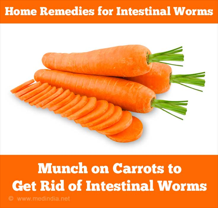 Home Remedies for Intestinal Worms - Carrots