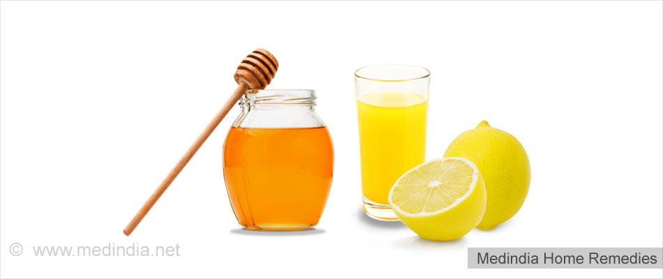 Home Remedies for Appendicitis: Honey and Lemon Juice