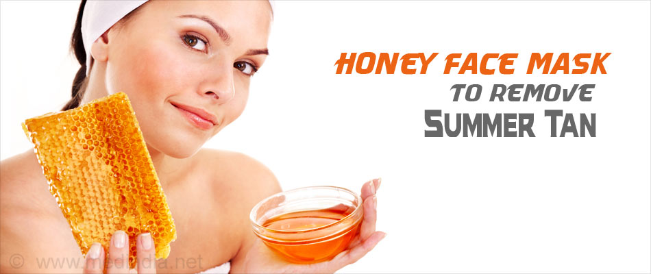 Honey Mask for Summer Tan
