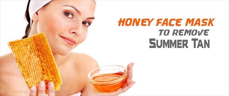Honey Mask for Summer Tan