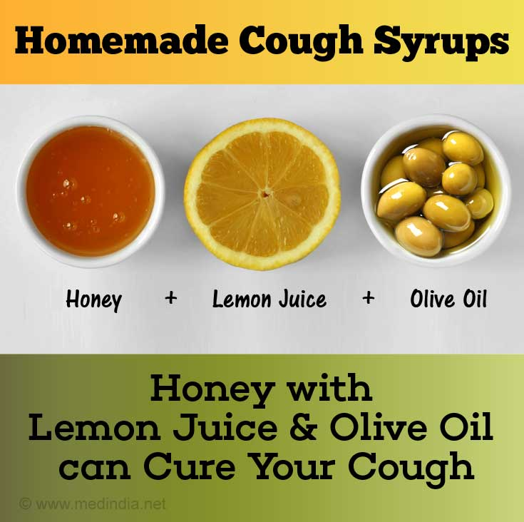 Honey with Lemon Juice and Olive Oil Cures Bad Cough