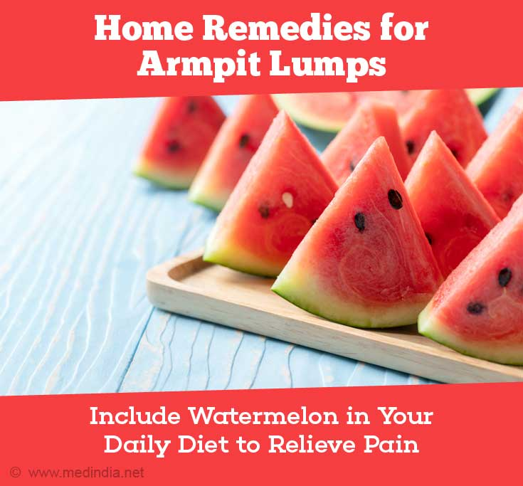 Include Watermelon as a Part of Your Daily Diet to Relieve Pain