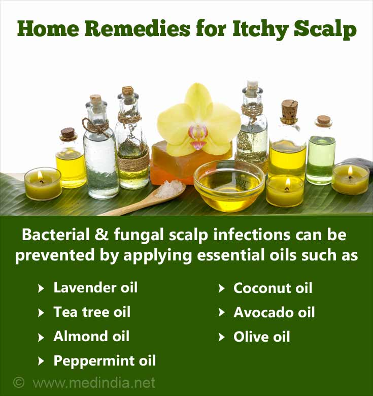 Use Essential Oils to Prevent Itchy Scalp
