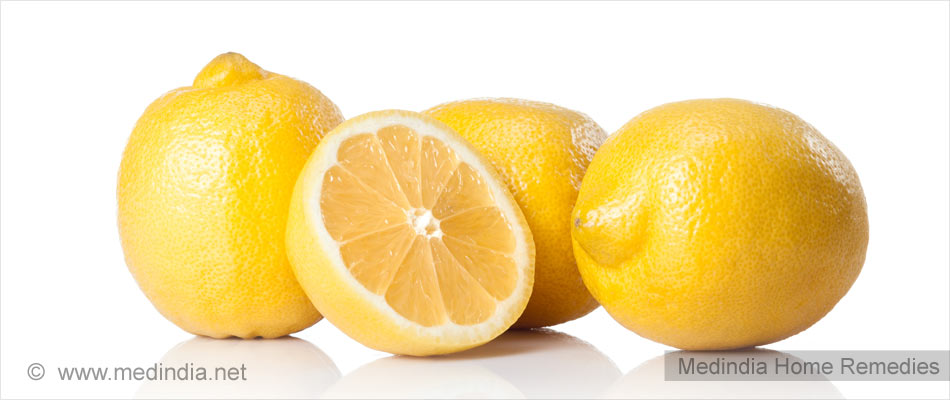 Lemon For Body Smell