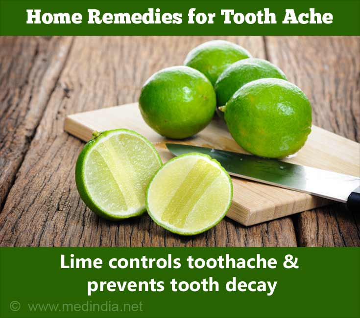 Lime Controls Toothache
