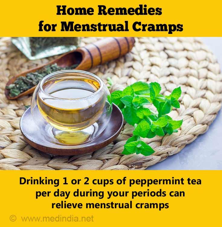 Peppermint Tea can Ease Menstrual Cramps