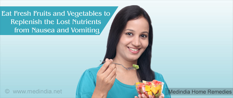 Home Remedies For Morning Sickness: Eat Fresh Fruits