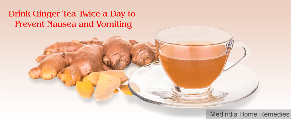 Home Remedies For Morning Sickness: Ginger Tea