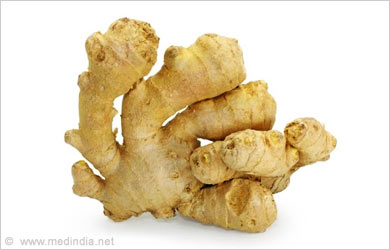 Home Remedies for Mumps: Ginger