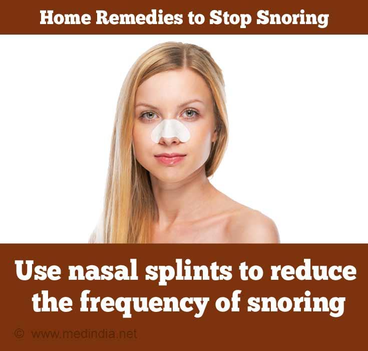 Nasal Splint for Snoring