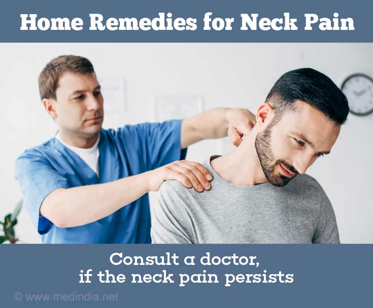 Neck Pain: Consult a Physician