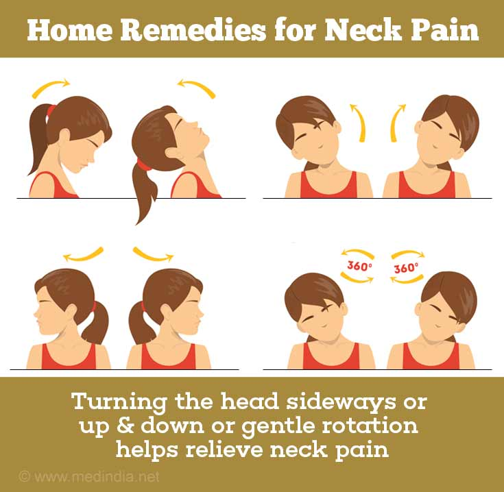 Home Remedies for Neck Pain: Exercises