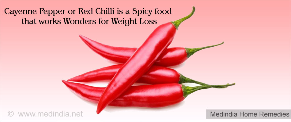 Home Remedies for Obesity: Cayenne Pepper