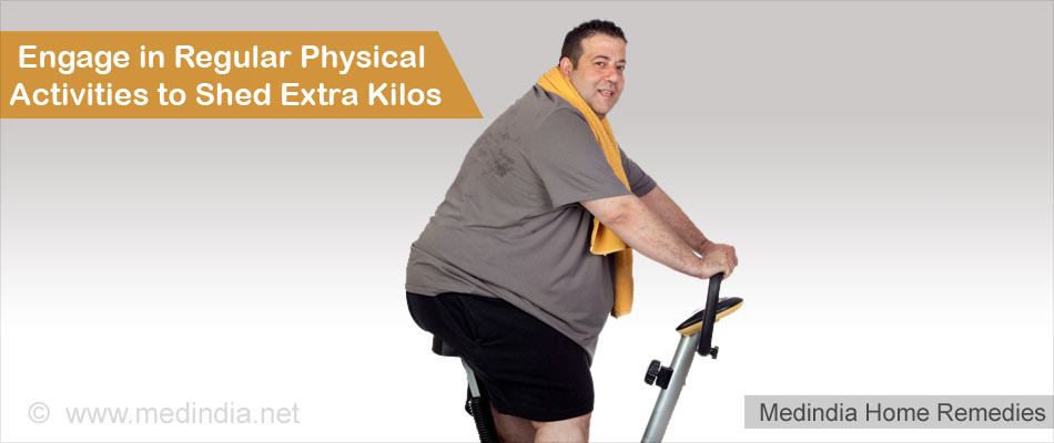 Home Remedies for Obesity: Exercise