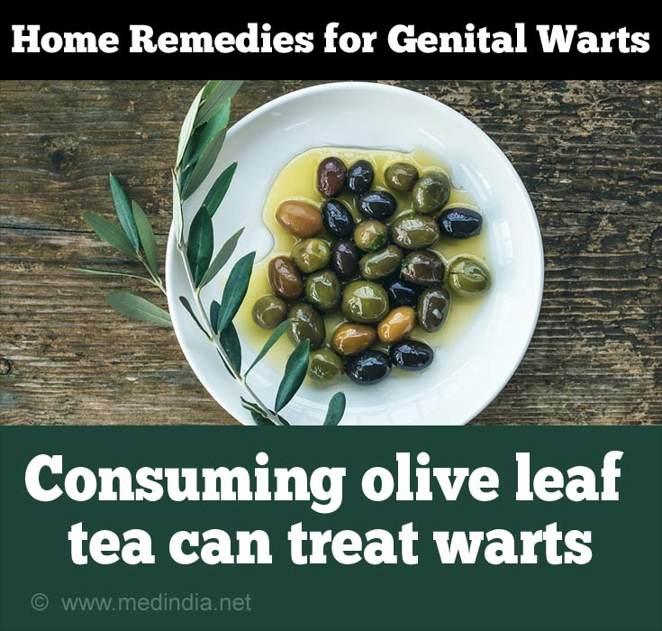 Olive Leaf for Genital Warts