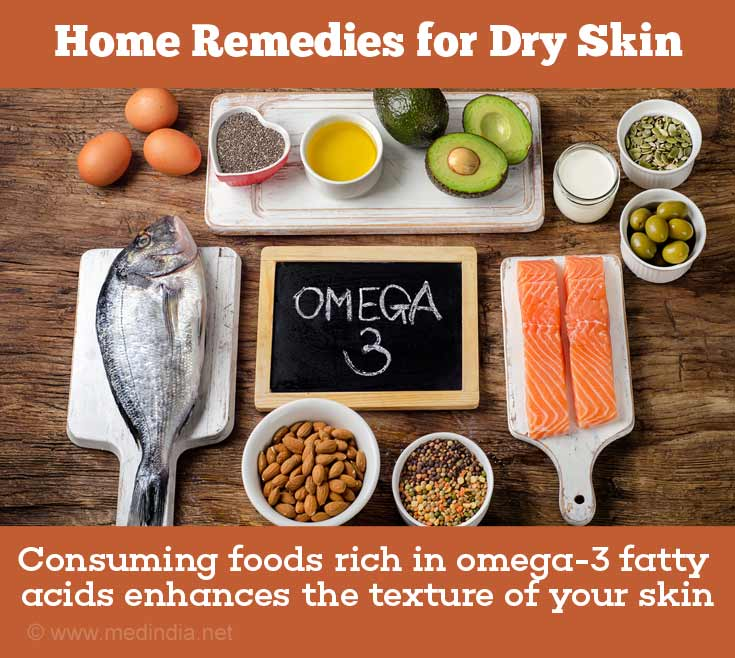 Home Remedies with Natural Ingredients for Dry Skin: Omega-3 Fatty Acids