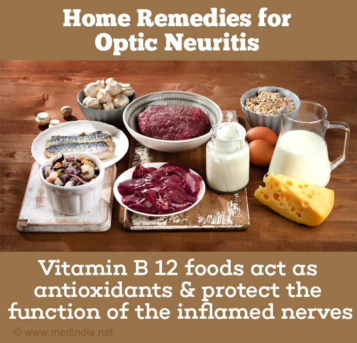 Home Remedies for Optic Neuritis: Vitamin B Foods