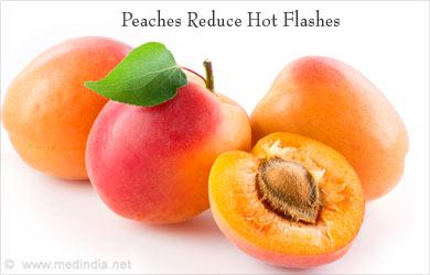 Peaches Reduce Body Heat