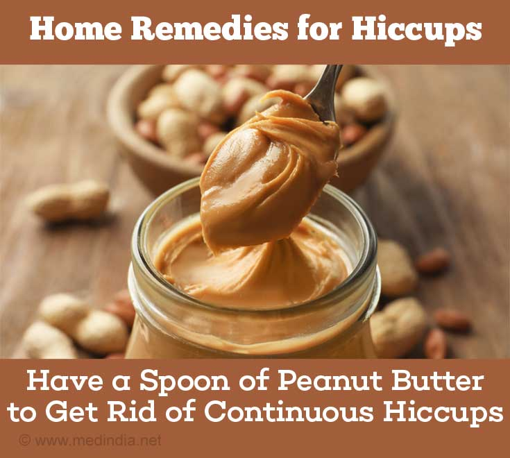 Home Remedies for Hiccups: Peanut Butter