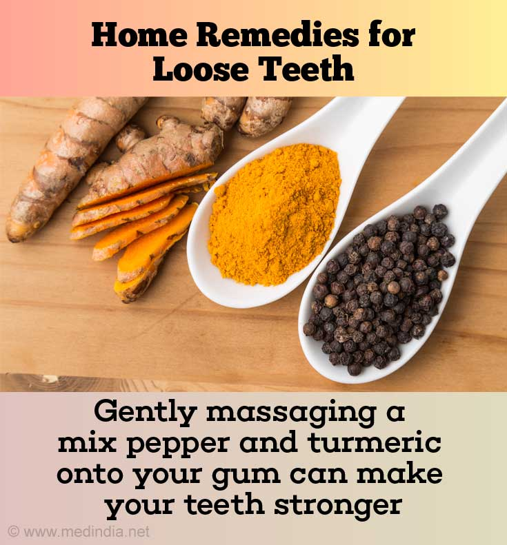 Pepper and Turmeric for Stonger Teeth
