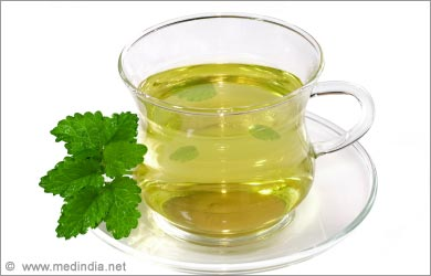 Home remedies for Menstrual Cramps: Peppermint Tea