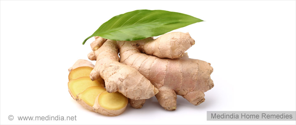 Home Remedies for Poor Appetite: Ginger