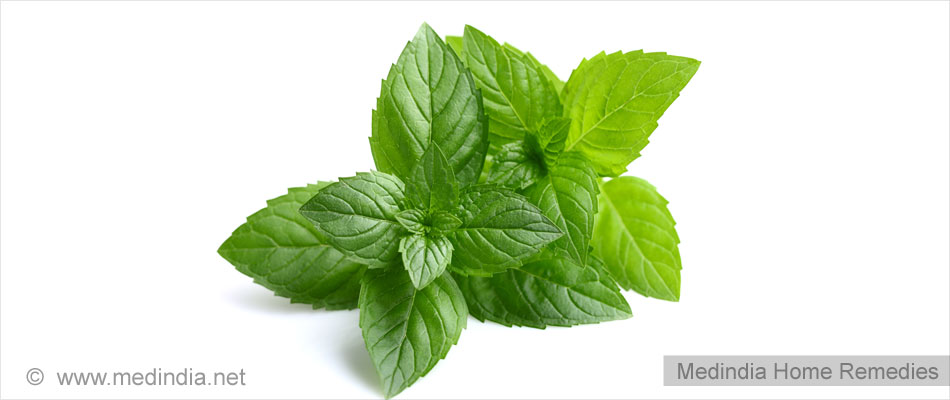 Home Remedies for Poor Appetite: Peppermint