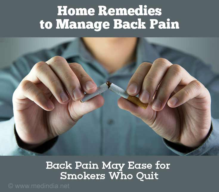 Quit Smoking to Prevent Back Pain
