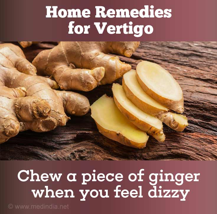 Ginger Prevents Dizziness