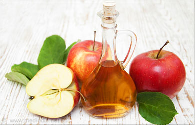 Home remedies for Gout: Apple cider vinegar