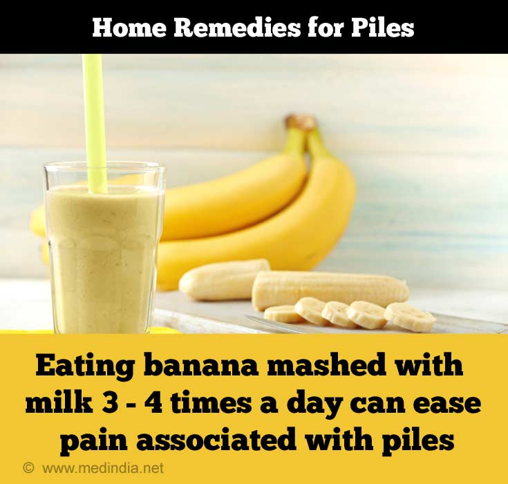 Ripe Banana for Piles / Hemorrhoids