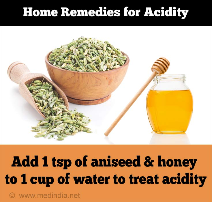 Home Remedies for Acidity: Saunf and Honey