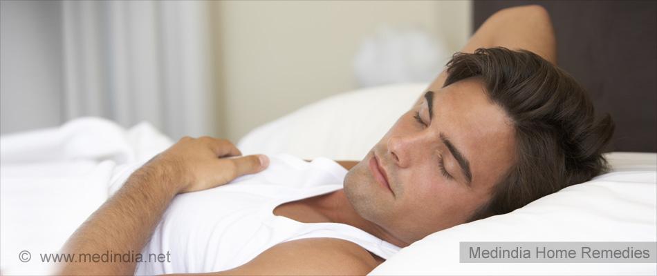 Home Remedies for Vertigo: Sleep Well