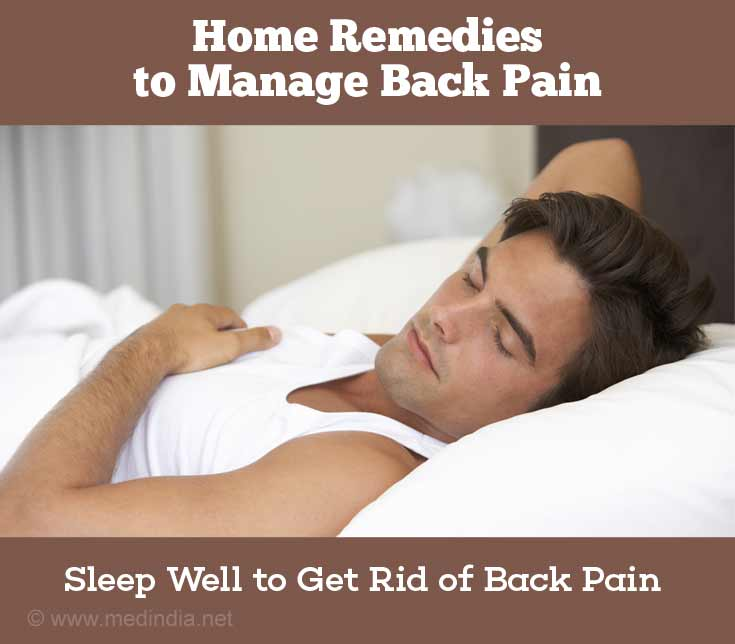 Sleep Properly to Prevent Back Pain