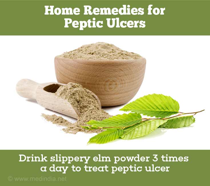 Home Remedies for Peptic Ulcers: Slippery Elm