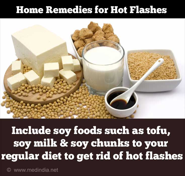 Soy Foods for Hot Flashes