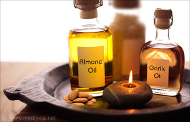 Home Remedies for Sprains: Almond Oil